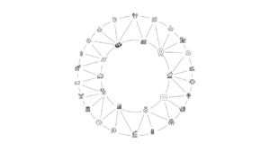 CirclesX Geolocation Exchange Platform Logo